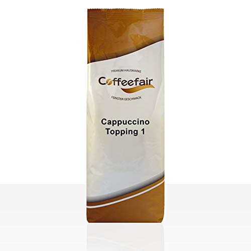 Coffeefair Cappuccino Topping I - 1kg automatengängiges Milchpulver 1000g, Instant-Milch für Vending-Automaten, 32% Magermilchanteil von Coffeefair