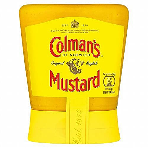 Colmans Original English Squeezable Mustard 150g von Colman's