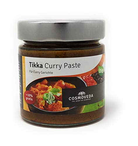BIO Tikka Curry Paste 160 g von Cosmoveda