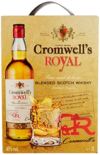 CROMWELLS ROYAL Scotch Whisky (1 x 3 l) von Cromwells Royal