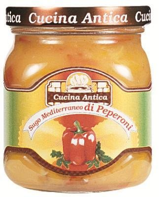 Cucina Antica - Mediterranean Pepper Sauce - 200 g (Pack of 2 Glass Jar) [Misc.] von Cucina Antica