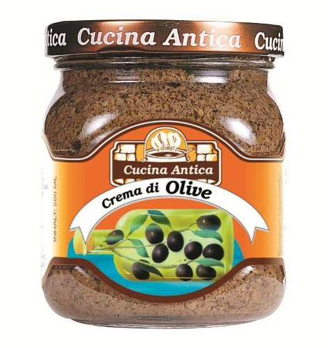 Cucina Antica - Olive Cream - 200 g (Pack of 2 Glass Jar) [Misc.] von Cucina Antica