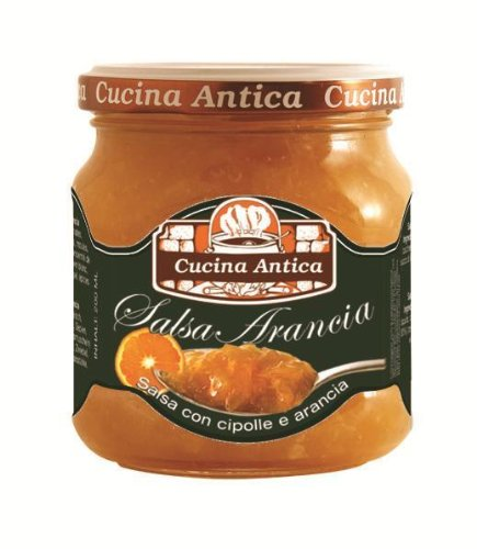 Cucina Antica - Orange Sauce - 210 g (Pack of 2 Glass Jars) [Misc.] von Cucina Antica