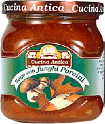 Cucina Antica - Porcini Mushroom Sauce - 200 g (Pack of 2 Glass Jar) [Misc.] von Cucina Antica