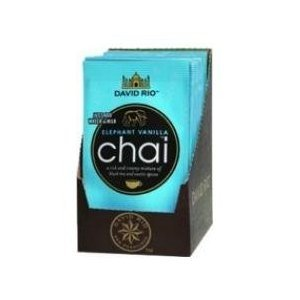 Chai Tea Elephant Vanille Spice David Rio, 12 Portionsbeutel im Display von David Rio