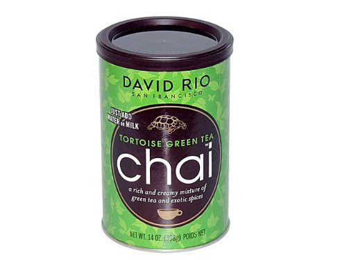 Chai Tea green Tea Tortoise David Rio 2 Dosen je 398 g (100g/2,31€) von David Rio