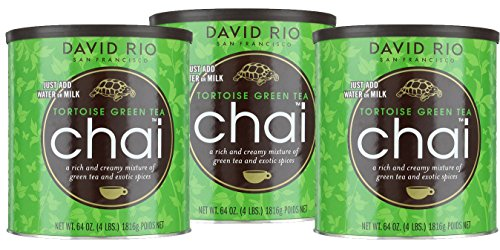 Chai Tea green Tea Tortoise David Rio 3 Dosen je 398 g (100g/2,14€) von David Rio