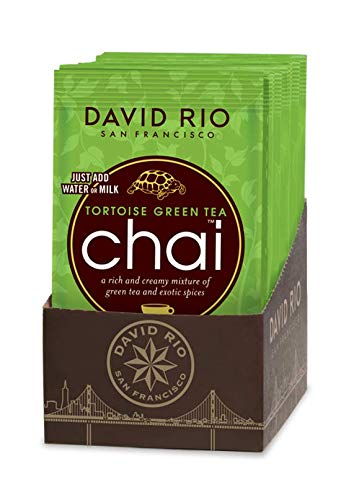 David Rio | Tortoise Green Tea | Chai Tea | 12x 28g | Chai Latte | 12 Portionsbeutel im Display von David Rio