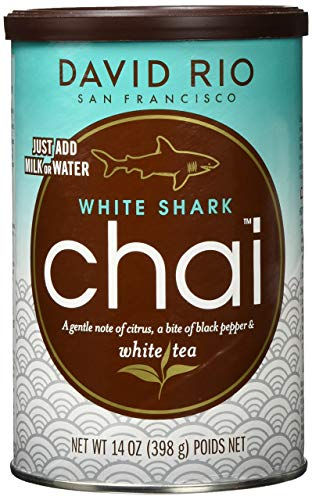 David Rio - White Shark Chai Dose, 398 g von David Rio