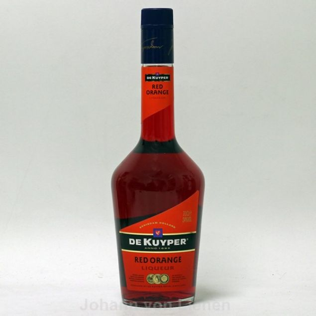 De Kuyper Red Orange 0,7 L 24%vol von De Kuyper
