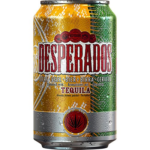 24 Dosen Desperados Orginal a 0,33l incl. 6,00€ Pfand Bier Flavoured with Tequilla von Desperados