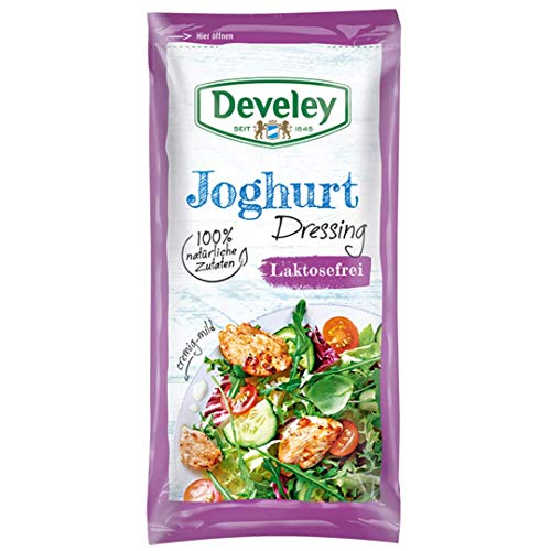 DEVELEY Joghurt laktosefrei Dressing, 14er Pack (14 x 75 ml) von Develey