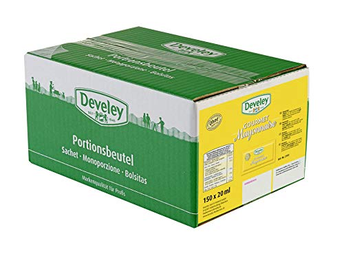 DEVELEY Mayonnaise 80%, 150er Pack (150 x 20 ml) von Develey