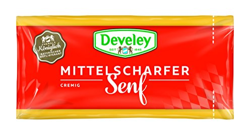 DEVELEY Mittelscharfer Senf, 200er Pack (200 x 15 ml) von Develey