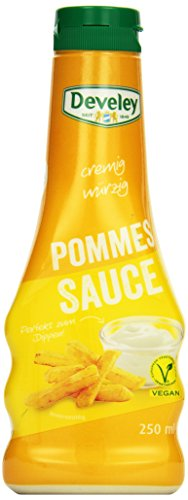 DEVELEY Pommes Sauce, 8er Pack (8 x 250 ml) von Develey