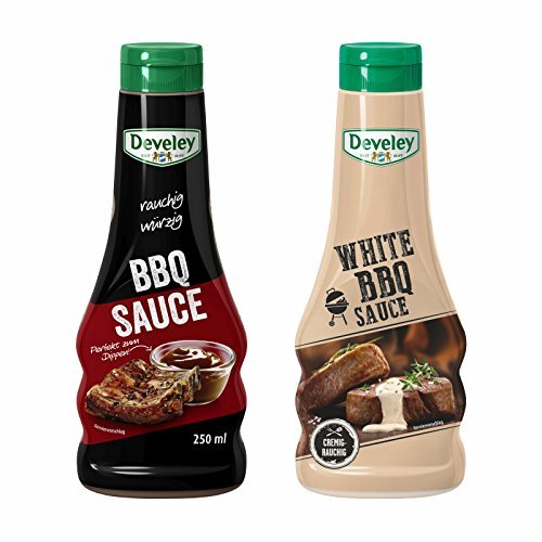 Develey BBQ Sauce & White BBQ Sauce (BBQ-Set 2x 250ml) von Develey