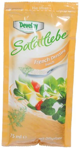 Develey Develey Salatliebe French Dressing - 1 x 75 ml von Develey