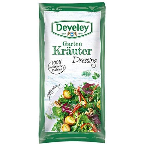 Develey Kräuter Portions Beutel, 14er Pack (14 x 75 ml) von Develey