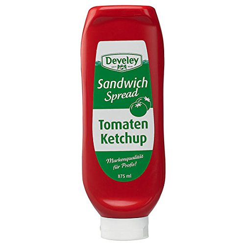 Develey Tomaten Ketchup, 6er Pack (6 x 875ml) von Develey