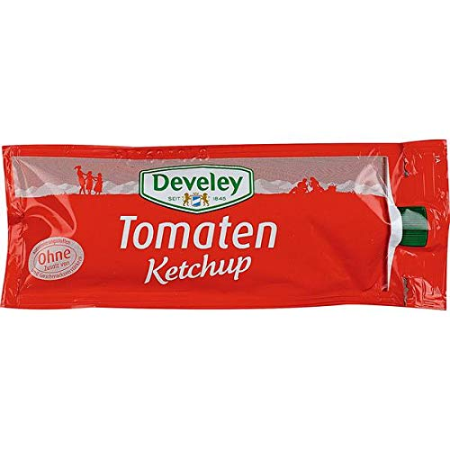 Develey Tomaten Ketchup 100x20ml Portionsbeutel von Develey