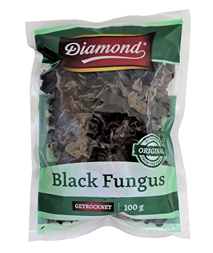 Diamond Black Fungus Mu-Err Pilze 100g aus China von Diamond