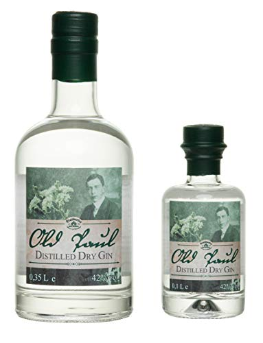 Old Paul Distilled Dry Gin 42%vol. (350 ml) von Diesdorfer