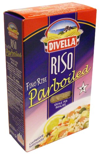 PARBOULED Reis DIVELLA 1 kg - Riso Fino Ribe Parboiled von Divella
