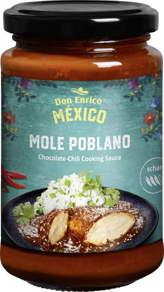 Don Enrico Mexicano Mole Poblano Chocolate Chilli Sauce von Don Enrico
