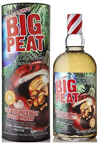 Douglas Laing BIG PEAT Islay Blended Malt Limited Christmas Edition 2020 in Geschenkbox 53,10% 0,70 lt. von Douglas Laing & Co.