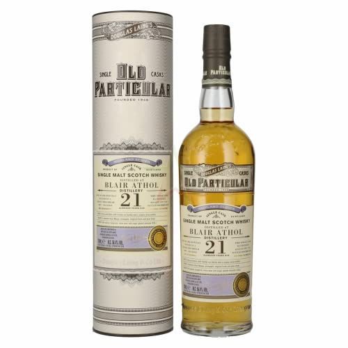 Douglas Laing BLAIR ATHOL Old Particular 21 Years Old Single Cask Malt 1997 56,40% 0,70 Liter von Douglas Laing & Co.
