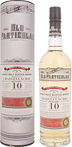 Douglas Laing Craigellachie Old Particular 10 Years Old Single Cask Whisky (1 x 0.7 l) von Douglas Laing & Co.