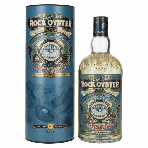 Douglas Laing Rock Oyster CASK STRENGTH Limited Edition No. 2 56,10% 0,70 Liter von Douglas Laing & Co.