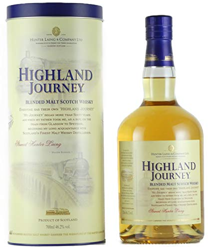 Highland Journey Blended Malt Scotch Whisky von Hunter Laing