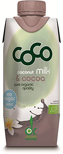 Dr. Antonio Martins Bio Coco Milk for Drinking Kakao (6 x 330 ml) von Dr. Antonio Martins