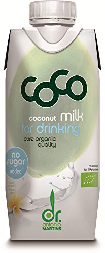 Dr. Antonio Martins Bio Coco Milk for Drinking pure (6 x 330 ml) von Dr. Antonio Martins