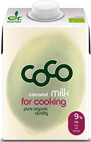 Dr. Antonio Martins Bio Coco Milk for Cooking (1 x 500 ml) von Dr. Antonio Martins