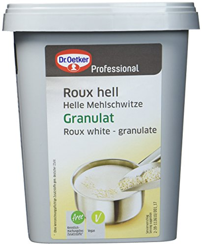 Dr. Oetker Professional Helle Mehlschwitze, Abbinden heller Fonds, Granulat in 700 g Dose, Roux hell von Dr. Oetker Professional