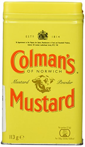 Colman's Original English Mustard Powder (1 x 113g) von Colman's