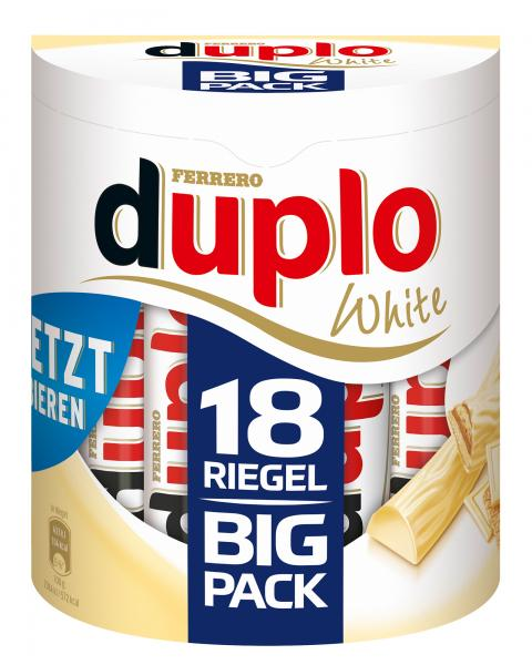 Duplo White Big Pack 18 Riegel von Duplo