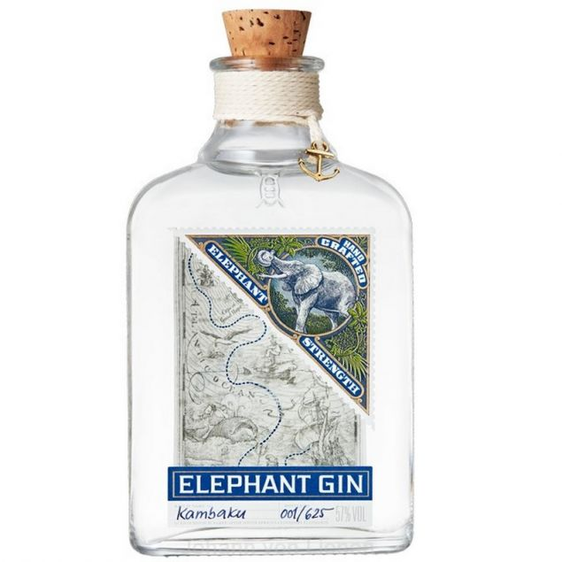 Elephant Gin Strength 0,5 L 57%vol von Elephant Gin