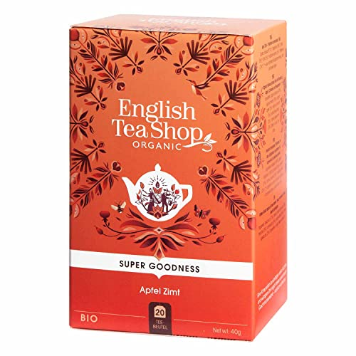 English Tea Shop - Apfel Zimt, BIO, 20 Teebeutel - (DE-Version) von English Tea Shop
