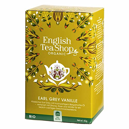 English Tea Shop - Earl Grey Vanille, BIO, 20 Teebeutel - (DE-Version) von English Tea Shop