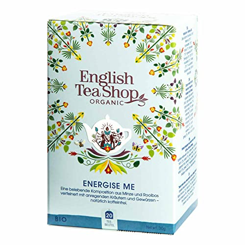 English Tea Shop - Energise Me, BIO Wellness-Tee, 20 Teebeutel von English Tea Shop