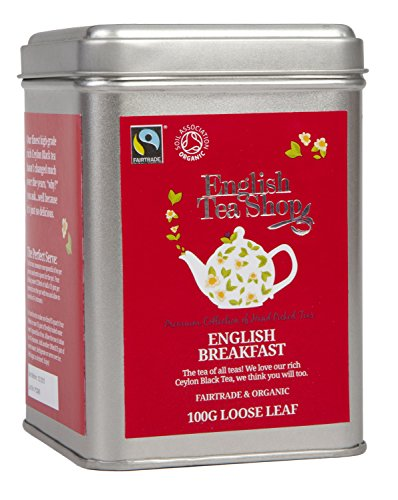English Tea Shop - English Breakfast, BIO Fairtrade, Loser Tee, 100g Dose von English Tea Shop