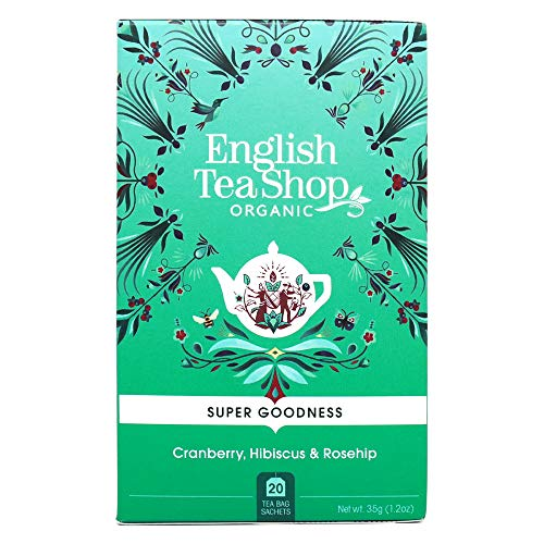 English Tea Shop - Garcinia Cranberry, BIO, 20 Teebeutel von English Tea Shop