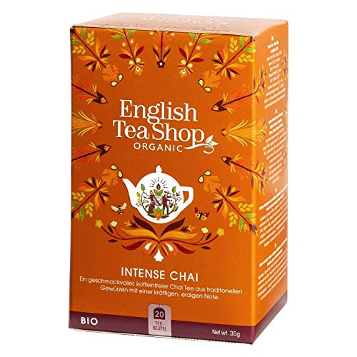 English Tea Shop - Intense Chai, BIO, 20 Teebeutel von English Tea Shop