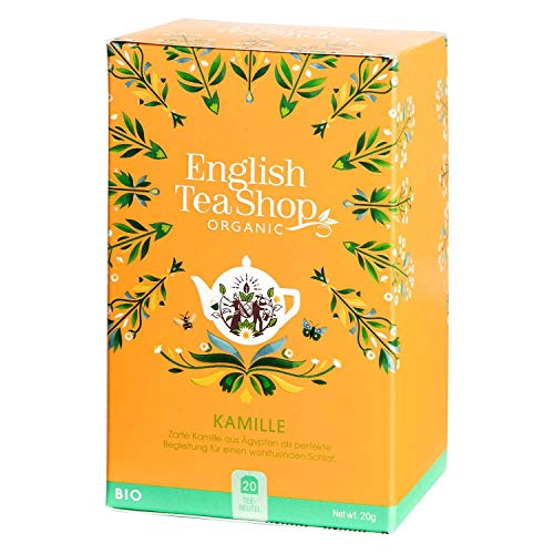 English Tea Shop - Kamille, BIO, 20 Teebeutel - (DE-Version) von English Tea Shop