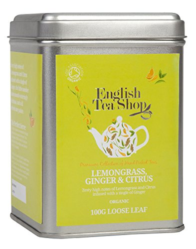 English Tea Shop - Lemongras, Ingwer und Zitrusfrüchte, BIO, Loser Tee, 100g Dose von English Tea Shop
