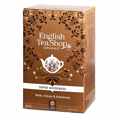 English Tea Shop - Mate, Kakao & Kokosnuss, BIO, 20 Teebeutel (DE-Version) von English Tea Shop