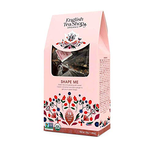 English Tea Shop - Shape Me, BIO, 15 Pyramiden-Beutel in Papierbox von English Tea Shop